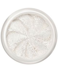 Lily Lolo Angelic Eyes: Vegan friendly, gluten free. A sparkling white shimmer mineral eyeshadow for beautiful fresh eyes or the perfect white highlighter. For wide eyes try dabbing Angelic into the inner corners.