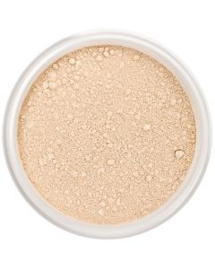 Lily Lolo Warm Peach Mineral Foundation: Gluten free, vegan.  A light foundation shade with warm undertones for paler skins.