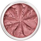 Lily Lolo Rosebud Blush: Gluten free, vegan. Shimmering perfect rosy pink blush for a natural flushed-cheek look.